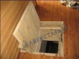 Как сделать люк в подпол под ламинат